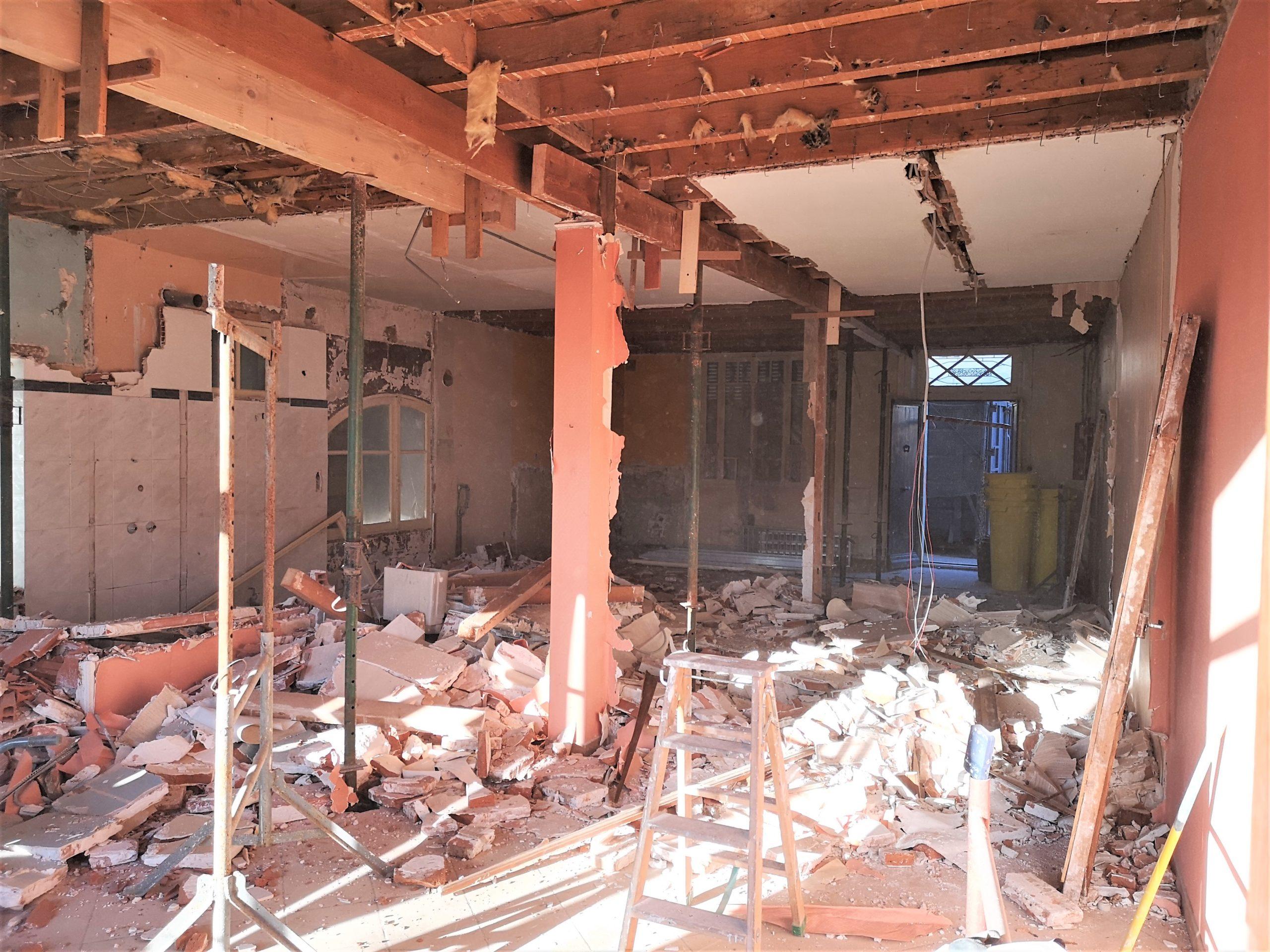 batitech renovation maison montauban avant