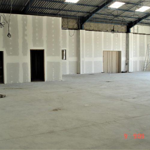 rénovation de magasin batitech montauban